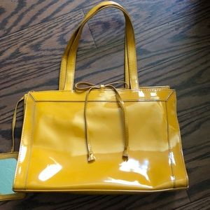 Yellow Liz Claiborne Purse